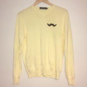 J. Crew Mustache Sweater